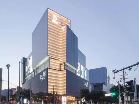 郑州全新的城市地标——丹尼斯集团大卫城,郑州百货商场之首