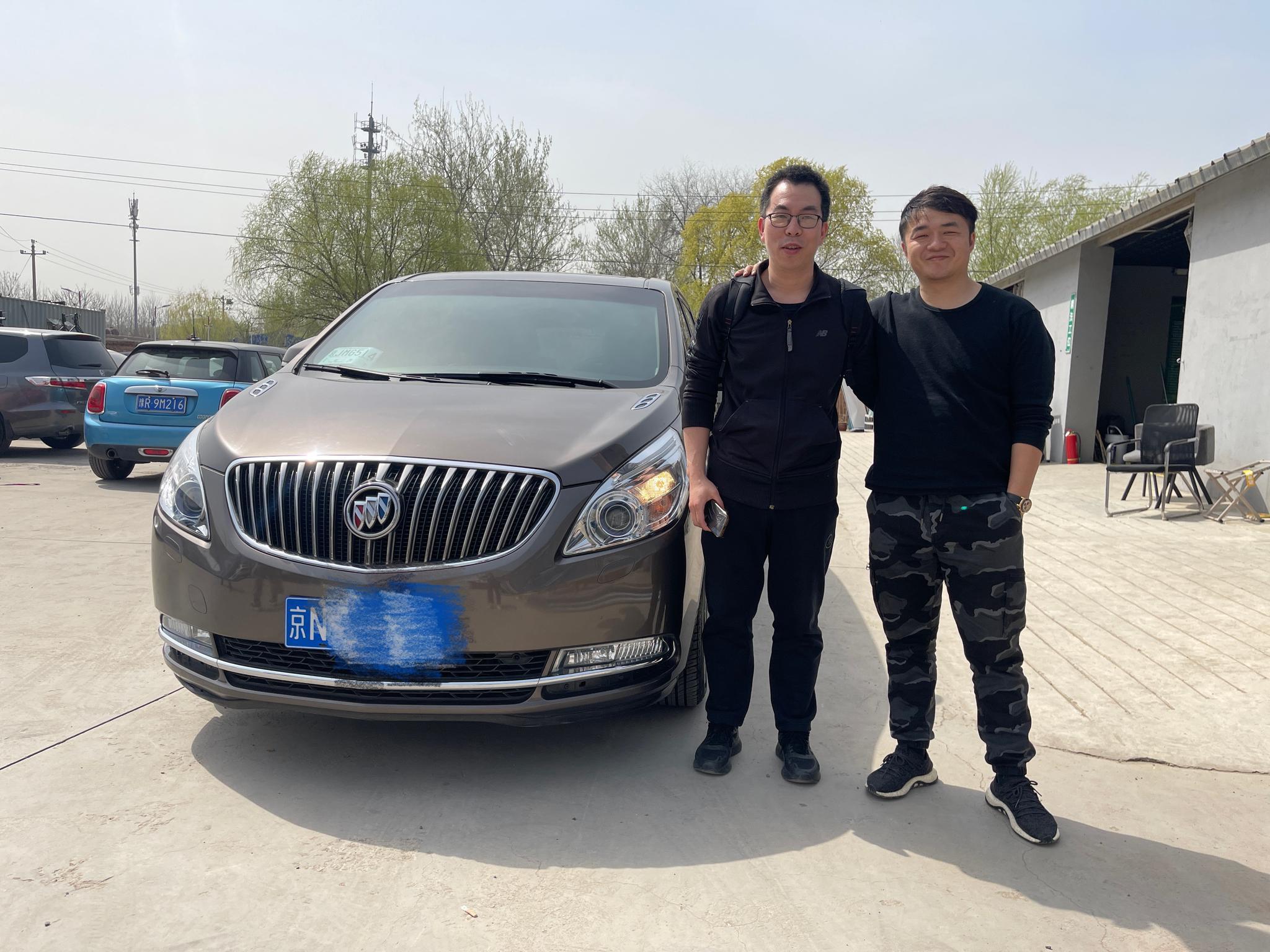 胖头鱼GL8卖到了北京本地,客户已经提走了车……