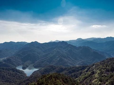 义乌大寒尖要爬多久?这座被李白歌颂的山,还是义乌和永康分界线