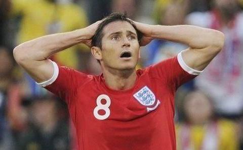 兰帕德:我对C罗的境遇感同身受,南非世界杯裁判组欠我一个道歉
