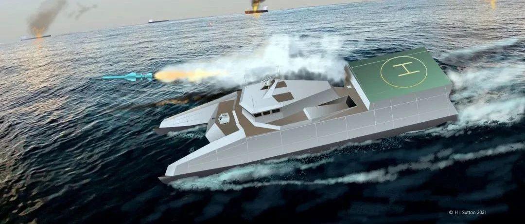 伊朗版022这么快就曝光了,一口气造3艘,可封锁霍尔木兹海峡