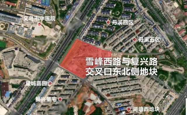 调整建筑限高、容积率,义乌市中心这一商住地块再次公示!
