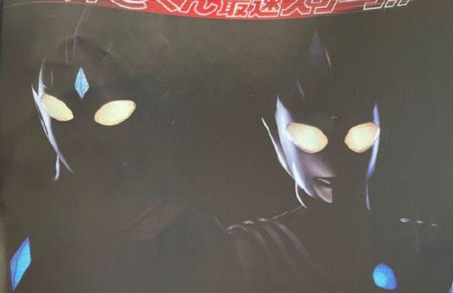 新奥特曼黑影图公开,外形与迪迦相似,疑似丸山浩设计的迪迦之子