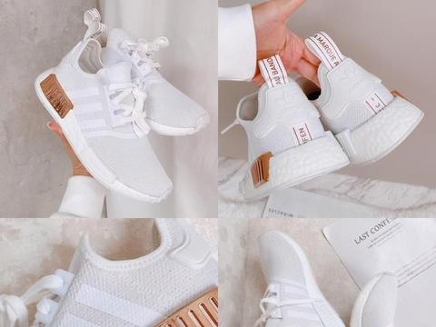 adidas女生白球鞋推荐:韩国女子天团展新品,显瘦又好搭!