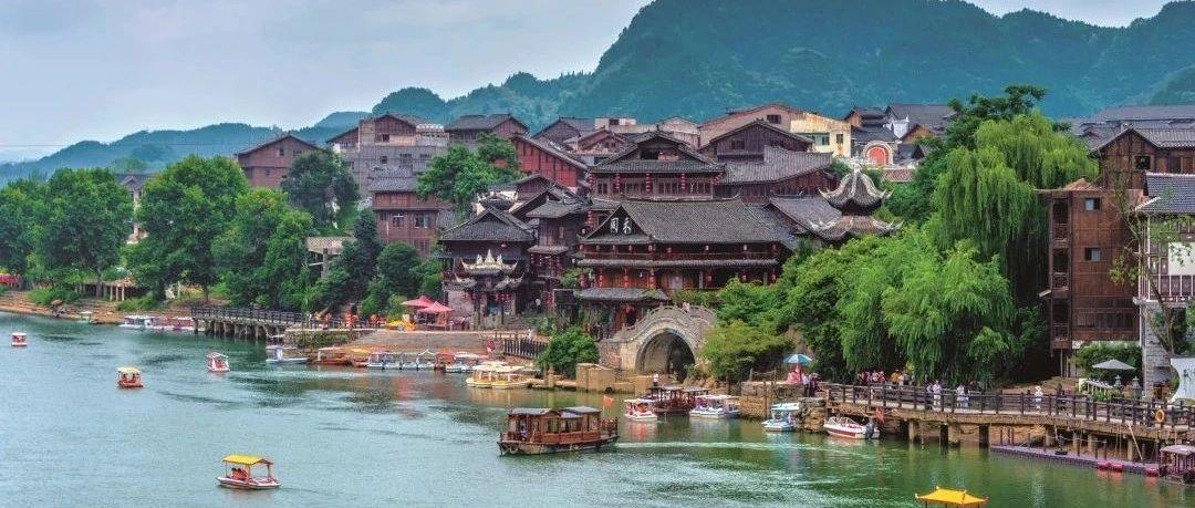 山河花海 春意贵州|春江水的蜿蜒里,洒落着贵州春日的明媚多姿