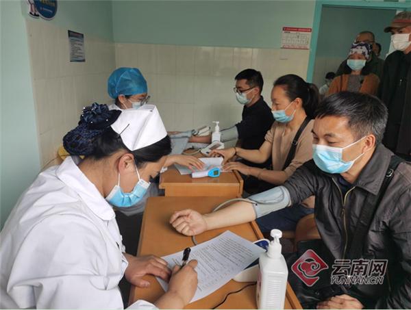 云南省玉溪市红塔区为台胞免费接种新冠疫苗