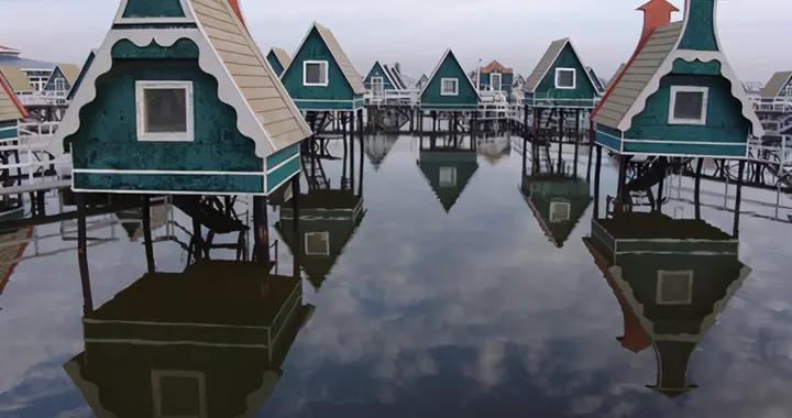 """河北的""""人造海岛"""":耗资1.5亿打造,生态极好风景不输涠洲岛"""