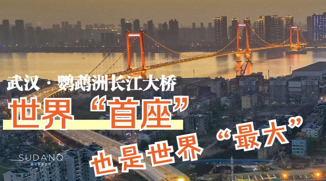 """武汉算得上是""""中国桥都""""了吧?"""