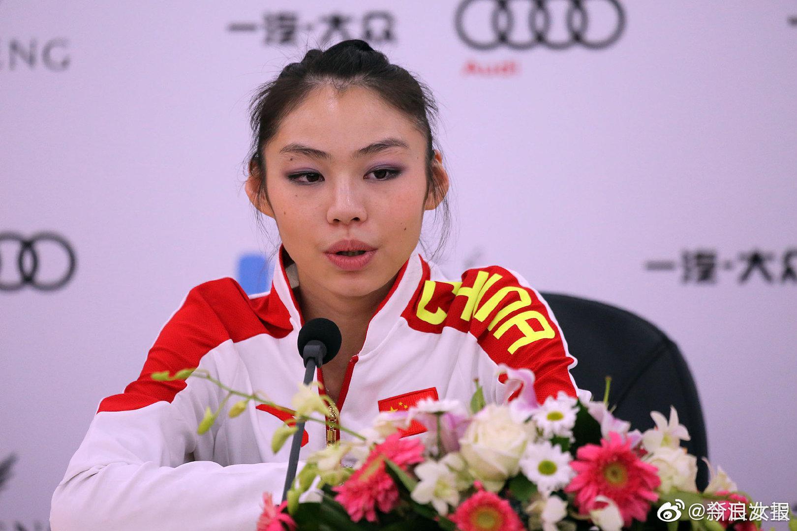 中国花样滑冰双人滑名将于小雨
