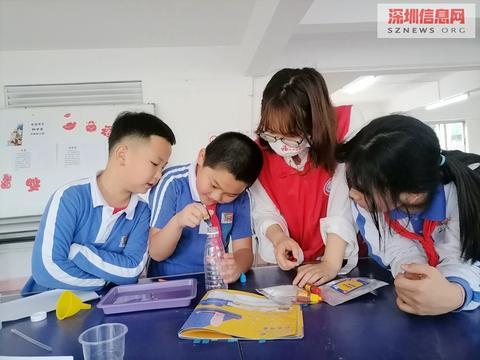 趣味小实验,科学大发现——南华社区科学知识普及小组真有趣
