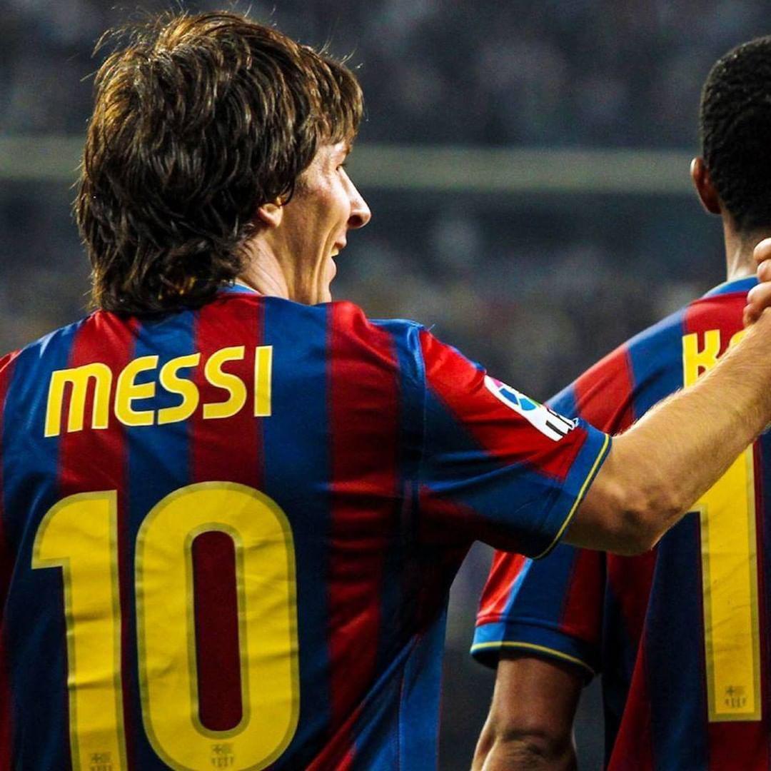 梅西和普约尔,2009/10赛季国家德比