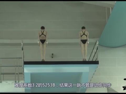 中国女子跳水新人王组合这一跳爆发,裁判忍不住打出满分