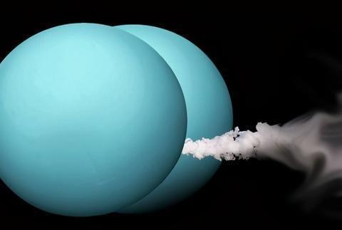 诡异的天王星,为何闻起来像臭鸡蛋?它表面存在液态钻石海洋?