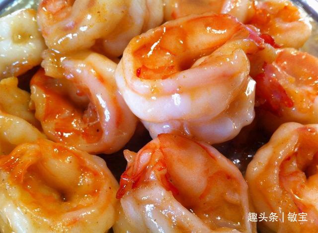 基围虾别就知道白灼!如此做,细嫩又入味,吃比炸的还香