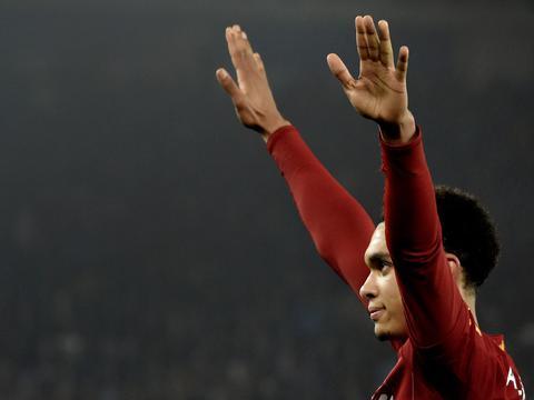 阿诺德送出英超第30次助攻,追平福勒和欧文在利物浦的联赛助攻数