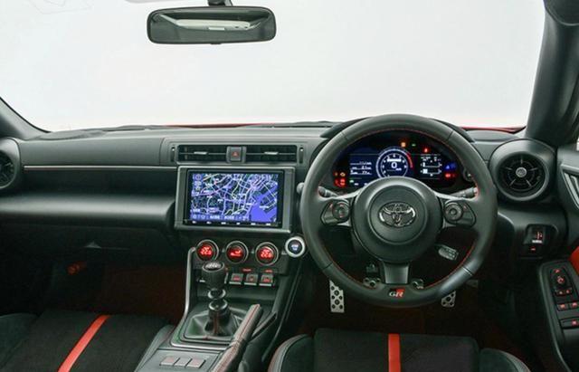 细节/配置变化明显 丰田新一代86正式发布