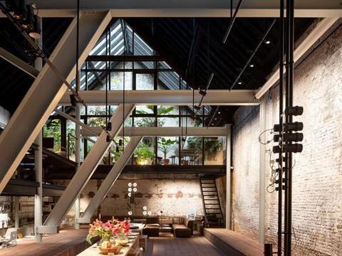 (案例)比利时旧时谷仓改造成现代阳光房的办公楼