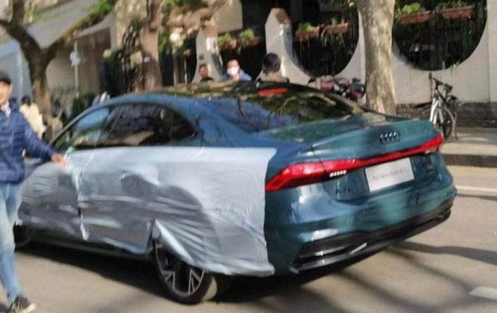 将于上海车展发布 上汽奥迪A7L实车曝光