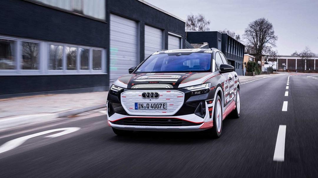 外观前卫运动 车内科技感极强 奥迪Q4 e-tron将于4月14日发布