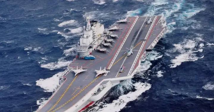 台湾:解放军航母来了,海军发言人:别怕,这才是开始