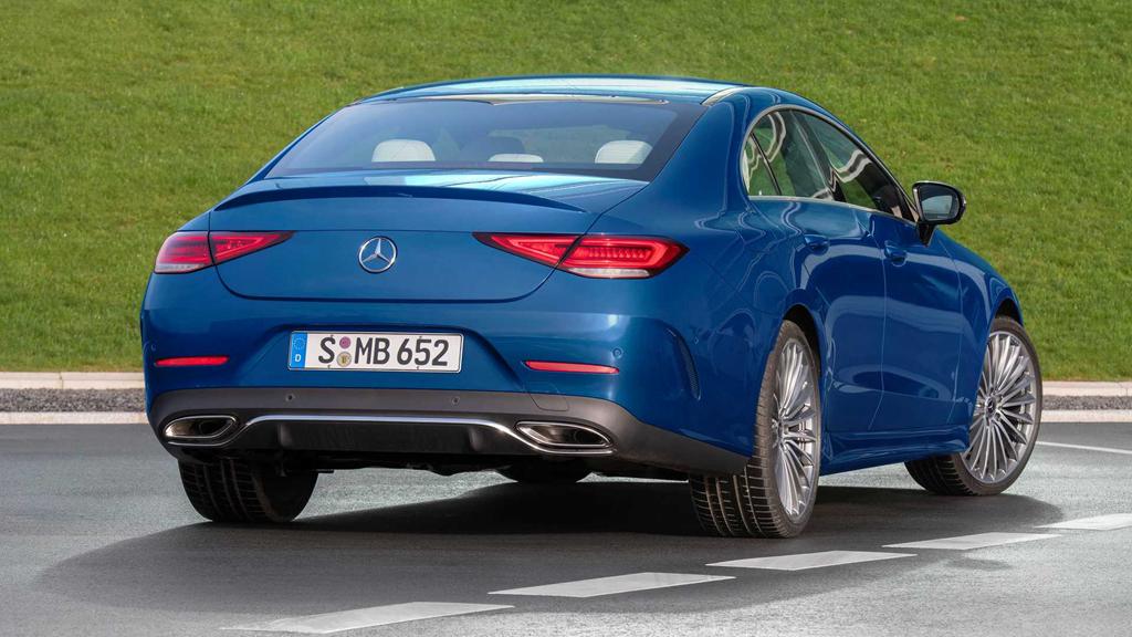 新款奔驰CLS官图正式发布 时尚感倍增