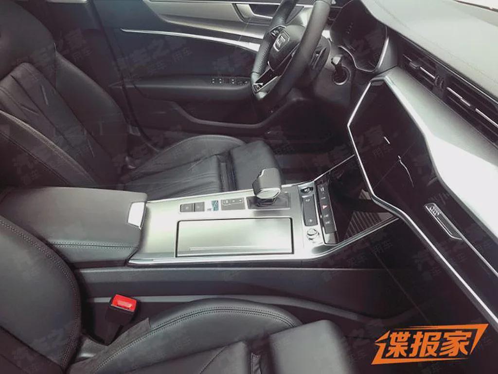 轴距加长!上汽奥迪首款奥迪A7L实车曝光,3.0T配四驱很香?