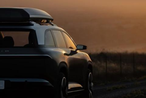 电动版SUV车型Lucid Gravity设计图近期公布
