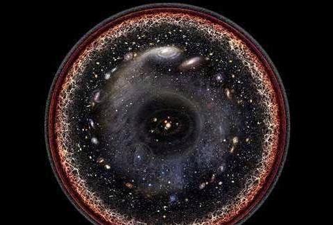 如果将银河系缩小到电子般大小,那时宇宙有多大呢?