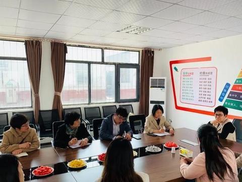 曹妃甸职业技术学院副校长王东风一行赴唐山森太学校参观学习