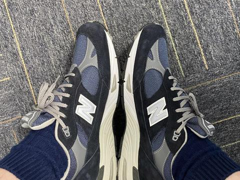 [开箱] New Balance 991海军蓝