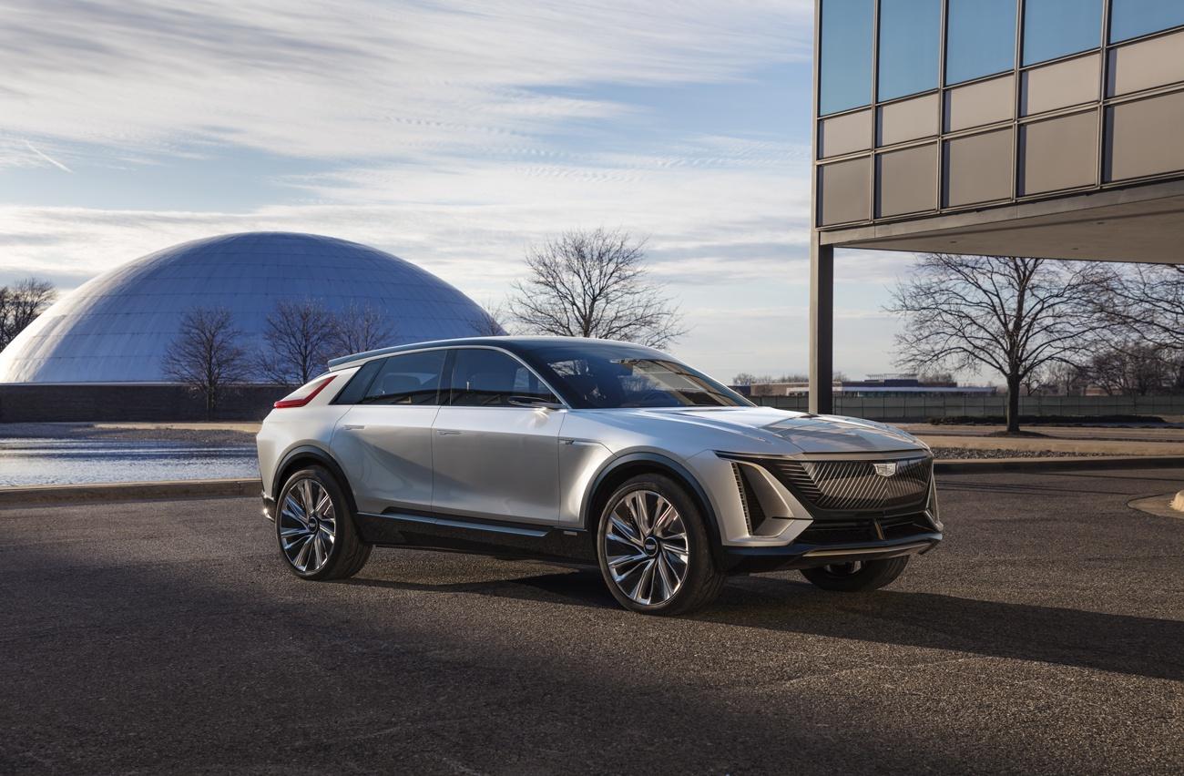 智能纯电新时代,凯迪拉克纯电概念车LYRIQ将于上海车展全球首秀