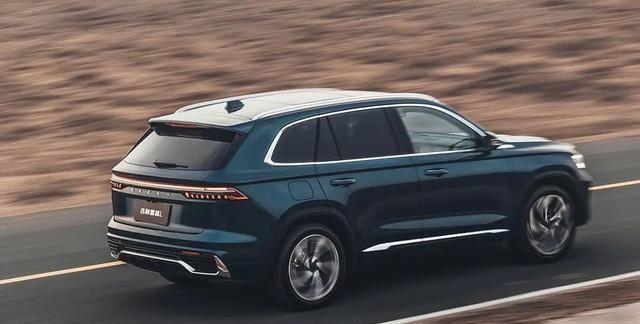 降维打击?星越L上海车展发布,轴距超2.8米,要定位紧凑级?