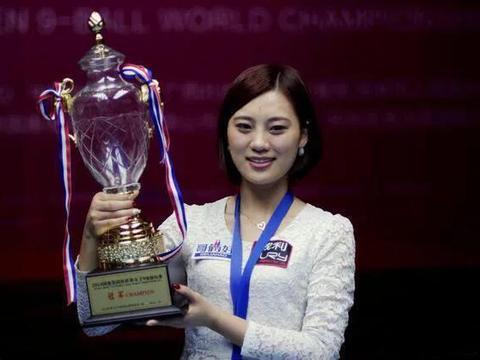 九球天后终于结婚,她三次获得世界冠军,富豪丈夫姓氏罕见