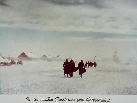 二战彩色老照片  茫茫大雪中的德军 这仗德军怎么打得赢?