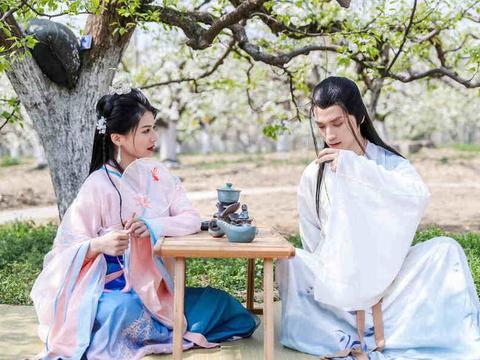 赏万亩梨花,感知触碰中国传统文化内涵:大兴区举办梨花游园活动