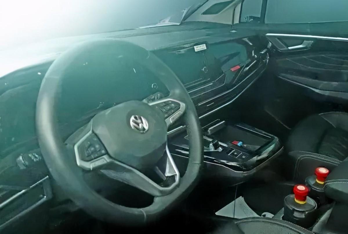 一汽大众旗舰SUV 上海车展正式亮相 比途昂还霸气