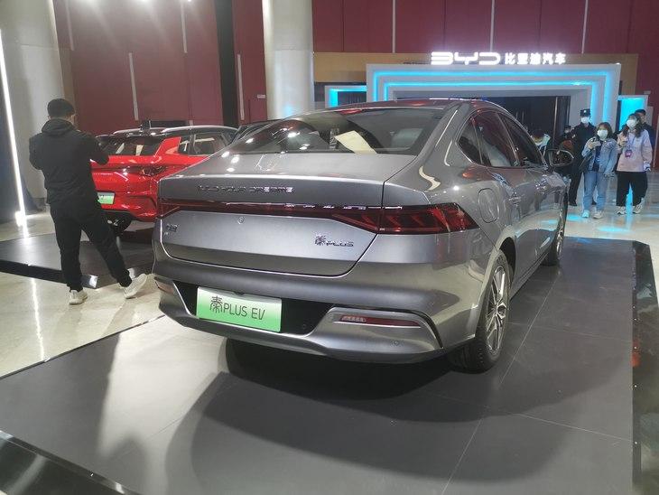 比亚迪秦PLUS EV正式上市 售价12.98-16.68万元