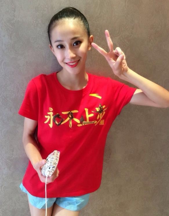 国民体操女神张豆豆,因一张照片一夜爆红,不忘初心拒进娱乐圈