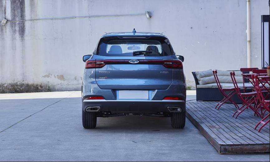 奇瑞瑞虎7超能版实车图曝光 配置高颜值帅/将于上海车展亮相