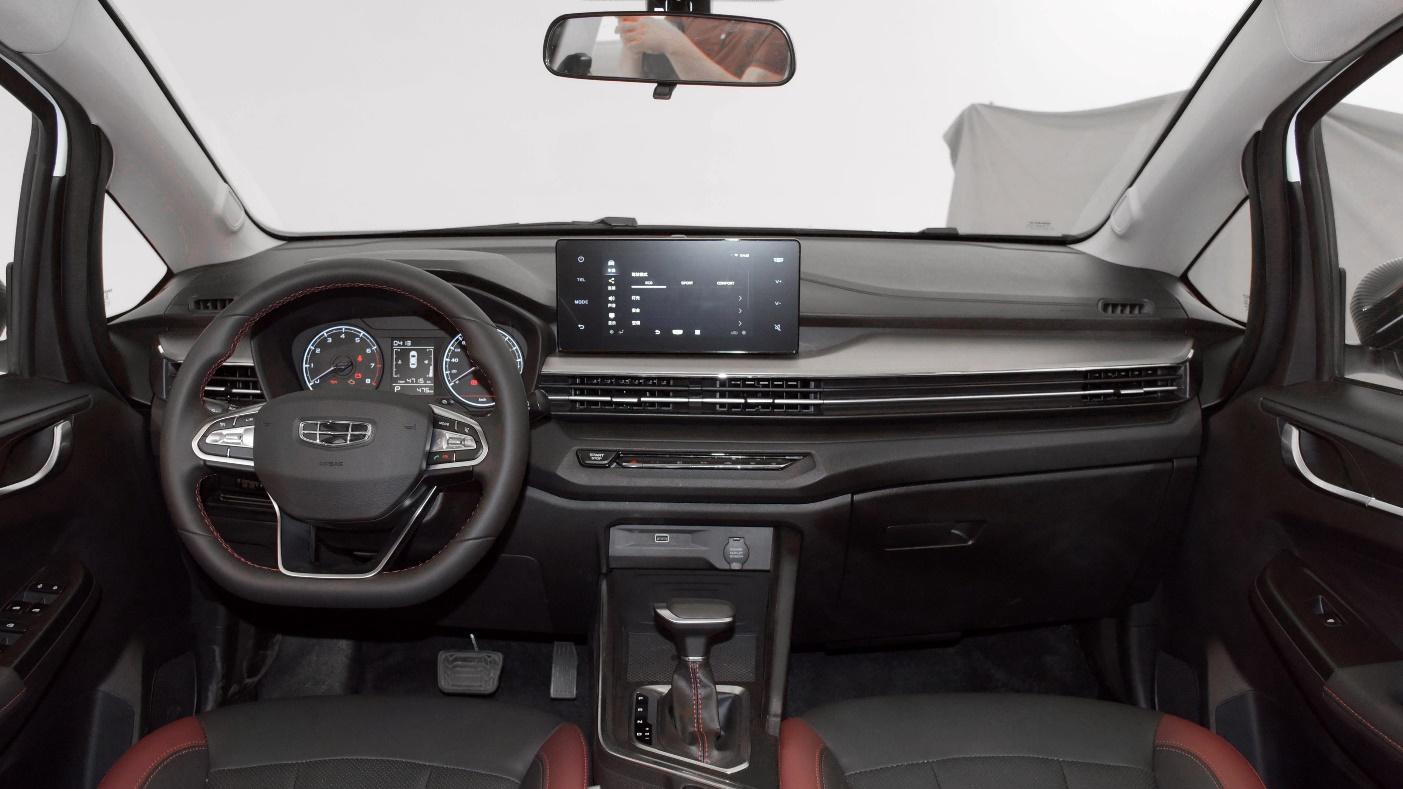 吉利新车要预售,几万块钱的SUV也有悬浮大屏?