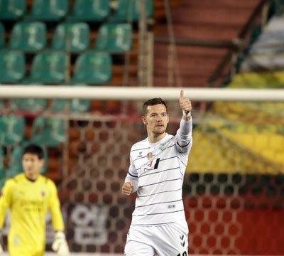 K1联赛第八轮进球集萃:伊柳琴科抢射破旧主,费利佩冲刺迎进球