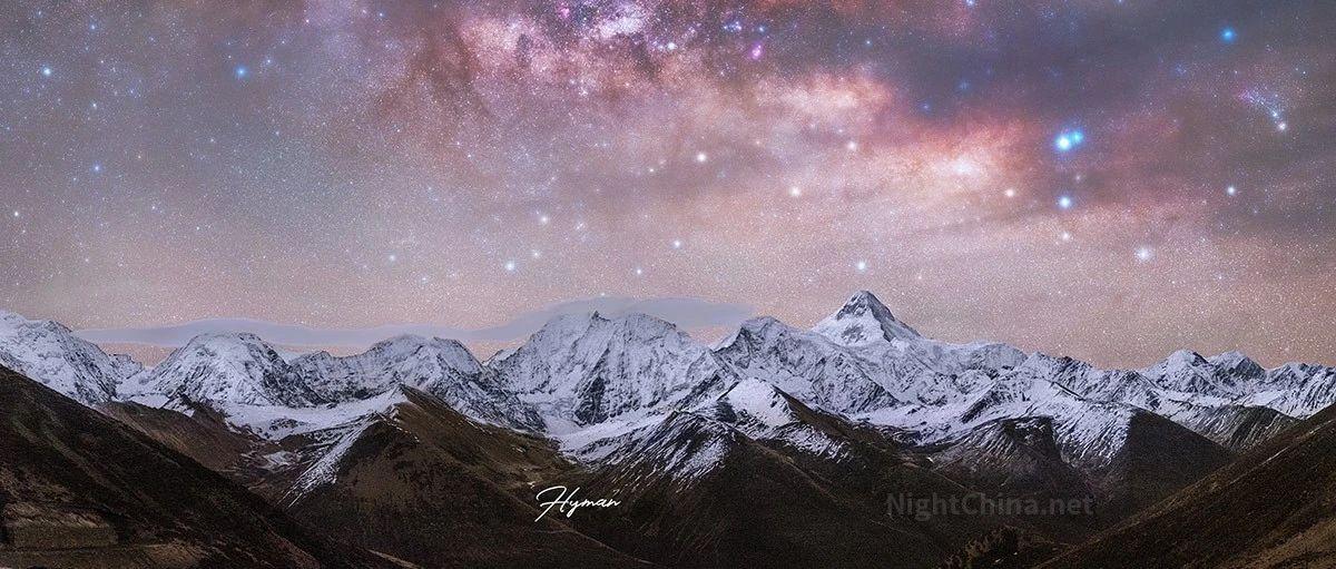 刹那间,云层退却,星光熠熠 | 夜空中国