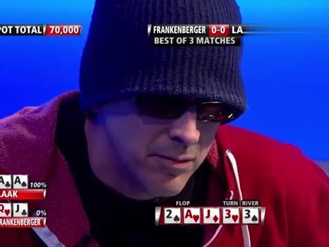 德州扑克:AA极限要价值 戏精上身了