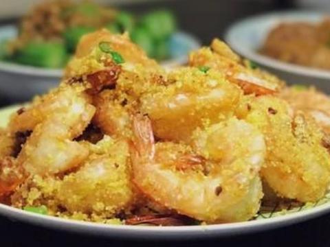 分享一款蒜蓉椒盐基围虾,外焦里嫩,营养解馋,孩子爱吃的家常菜