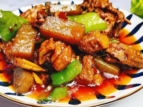 家常经典美食——魔芋红烧鸭,怎么吃也不会腻,越吃越想吃