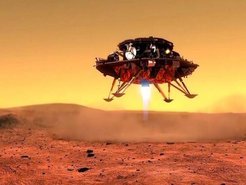 """天问一号火星车正面照公开,额头上一组""""篆文""""有何深意?"""