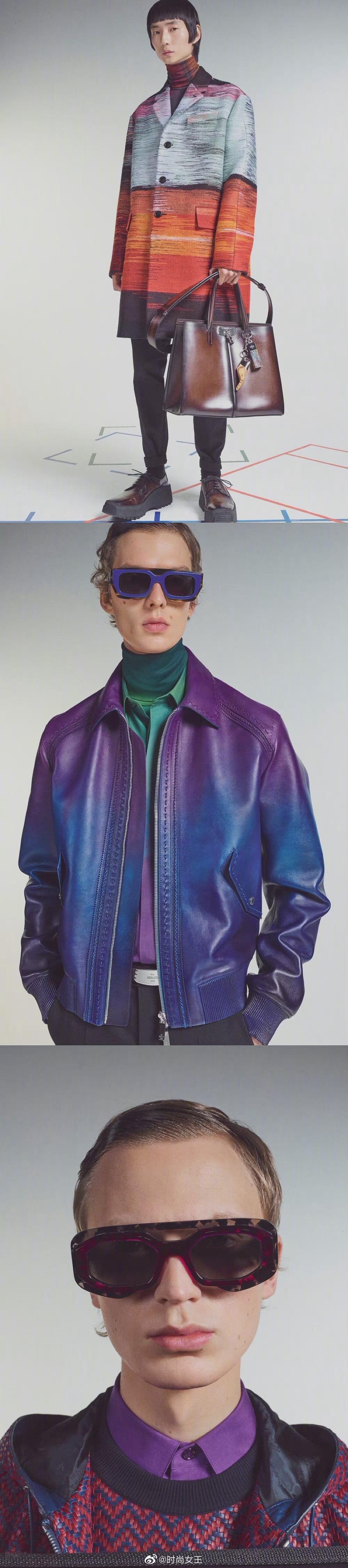 Berluti F/W 2021 男装系列|渐变色彩打造出满满的高级感!