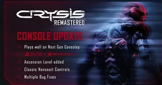 《孤岛危机5:重制版》重要更新即将于近日发布