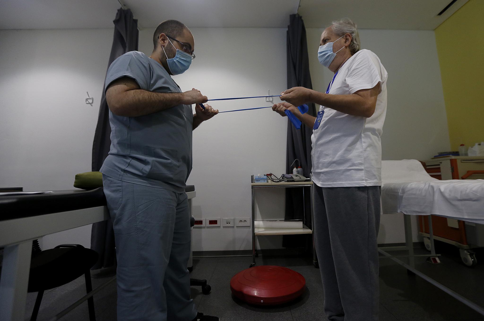 黎巴嫩的新冠康复中心