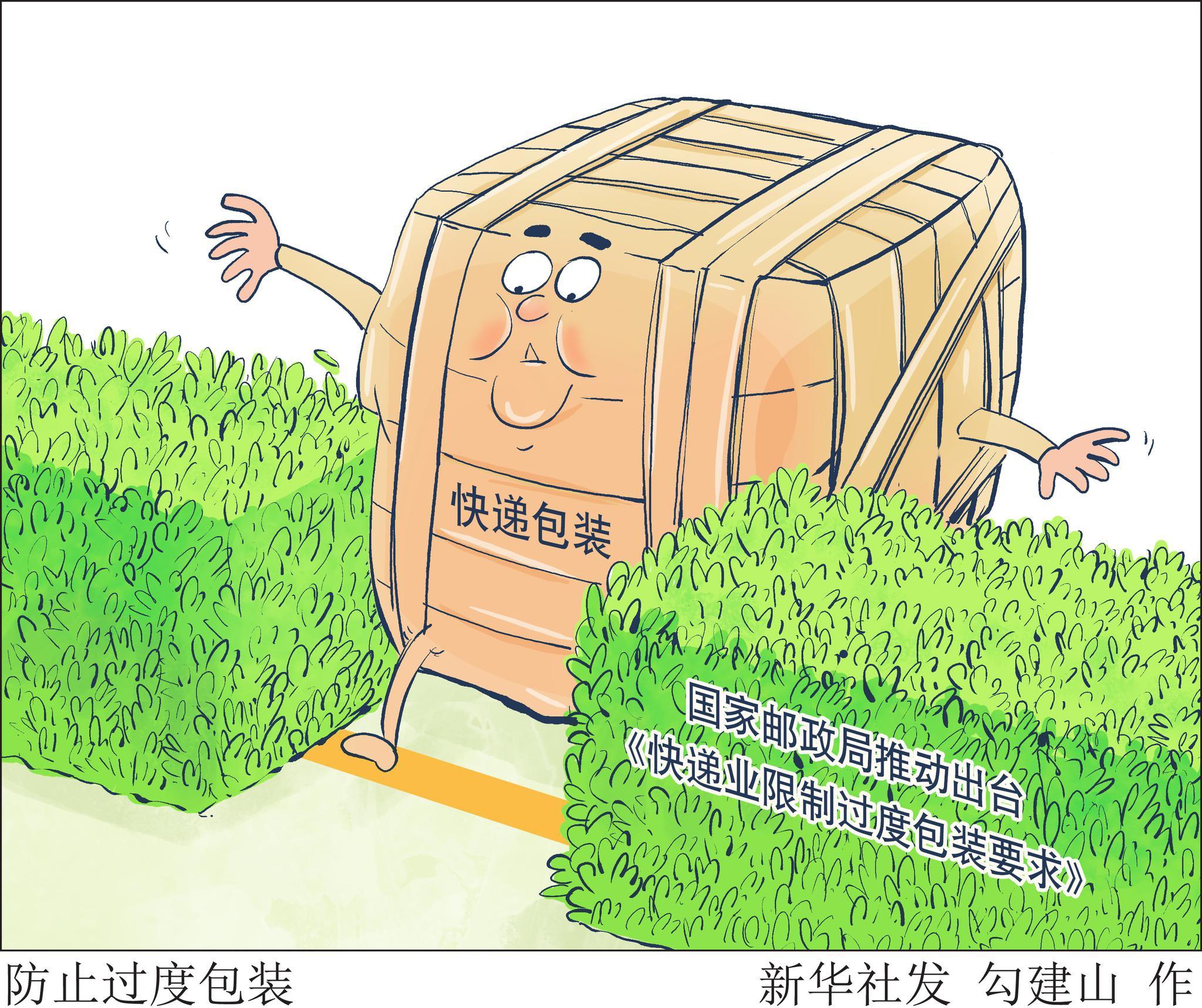 防止过度包装